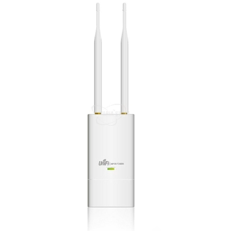 UAP-OUTDOOR, 2.4Ghz N, MIMO 2X2, Exteriores, alcance 600Ft, 2 antenas RP-SMA y PoE