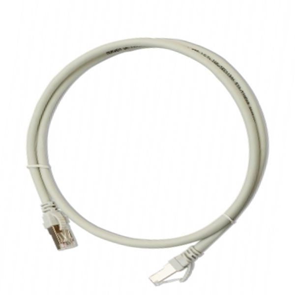 SBE-1109-1.0M-GY, Patch cord cat. 5e, Gris, 1 m